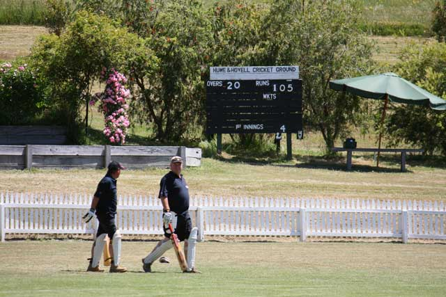 roadside Fluros vs Flowerdale Cricket Day 3