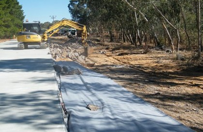Drainage to Wet land construction